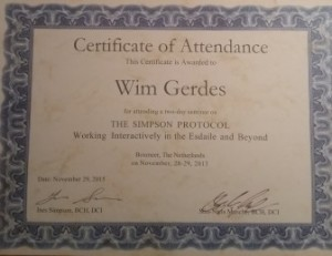 certificaat Simpson Protocol